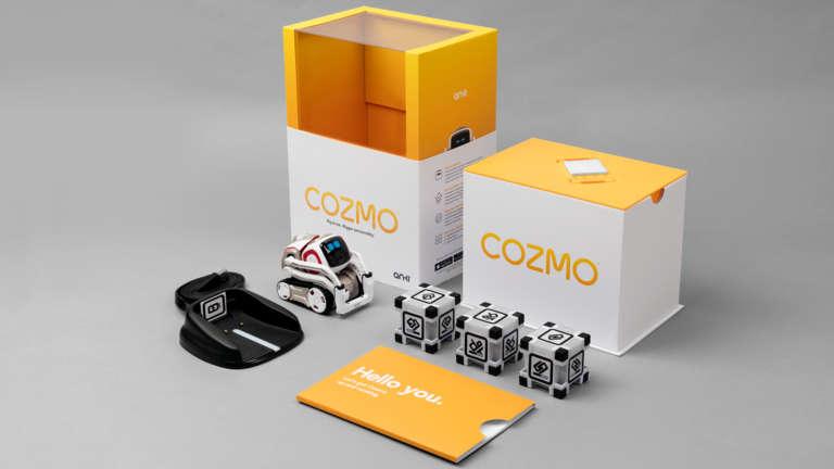 Anki Cozmo Packaging Header