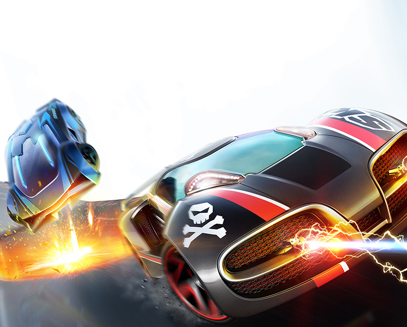 Anki Overdrive Key Art Mobile