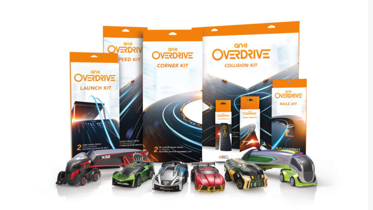 Anki Overdrive Packaging Header