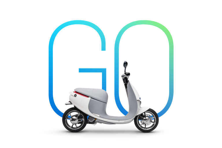 Gogoro Key Art White