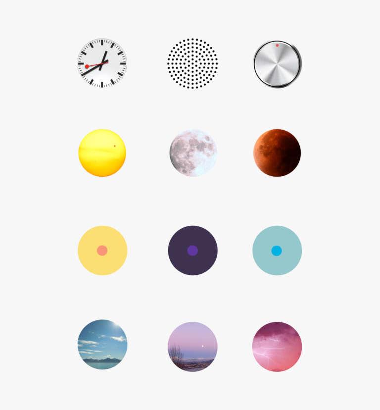 Hora App Circles