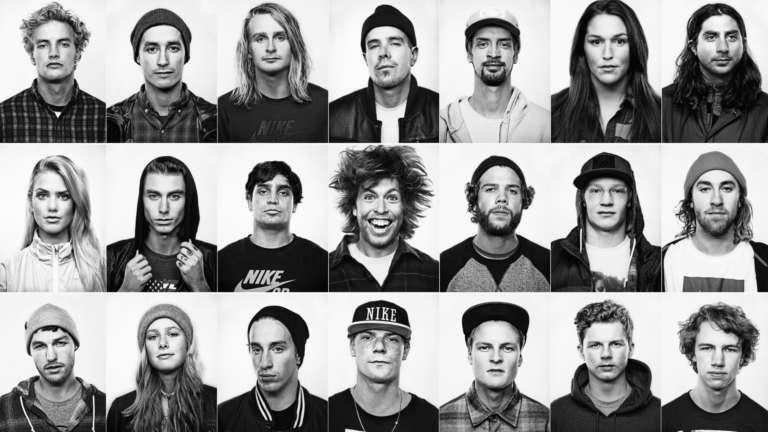 Nike Snow Team Portraits All