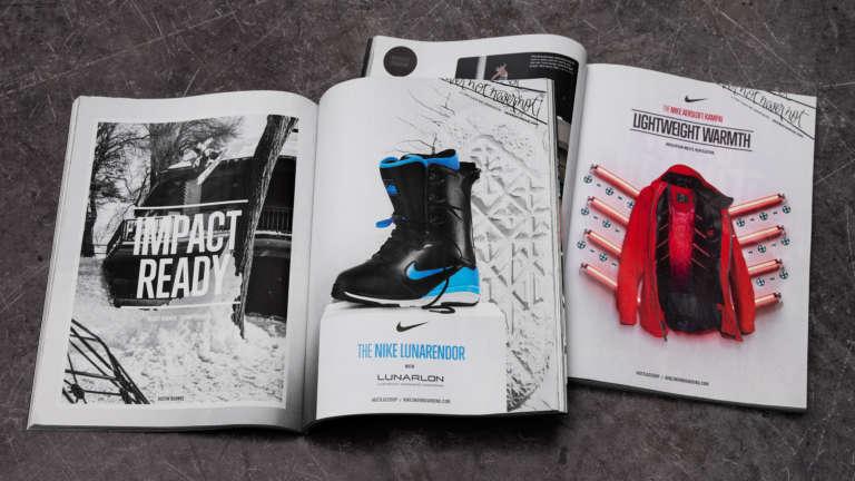 Nike Snowboarding Print