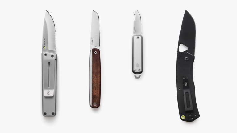 James Brand Knife Wall