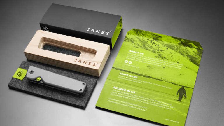 James Brand Packaging Full