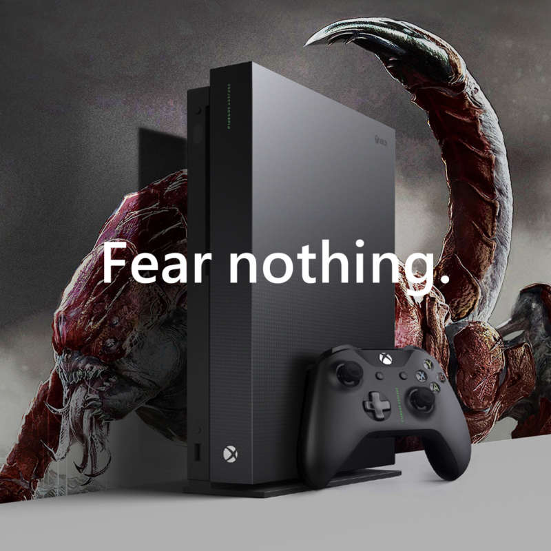 Xbox One X Working Square Monster