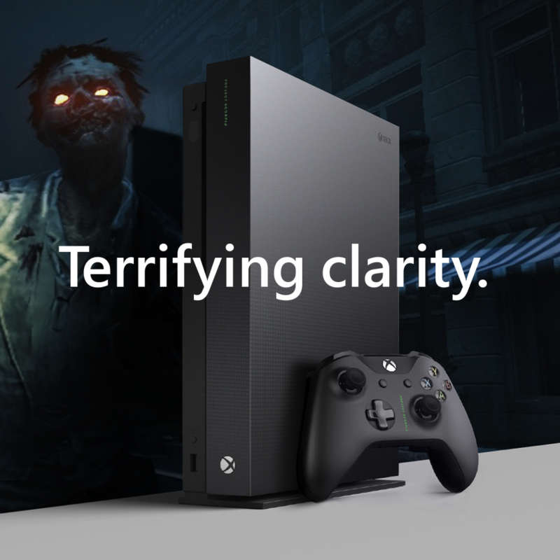 Xbox One X Working Square Zombie